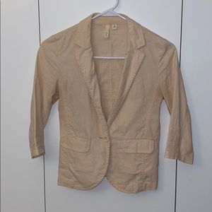 Frenchi 3/4 Sleeve Blazer